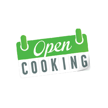 Open cooking