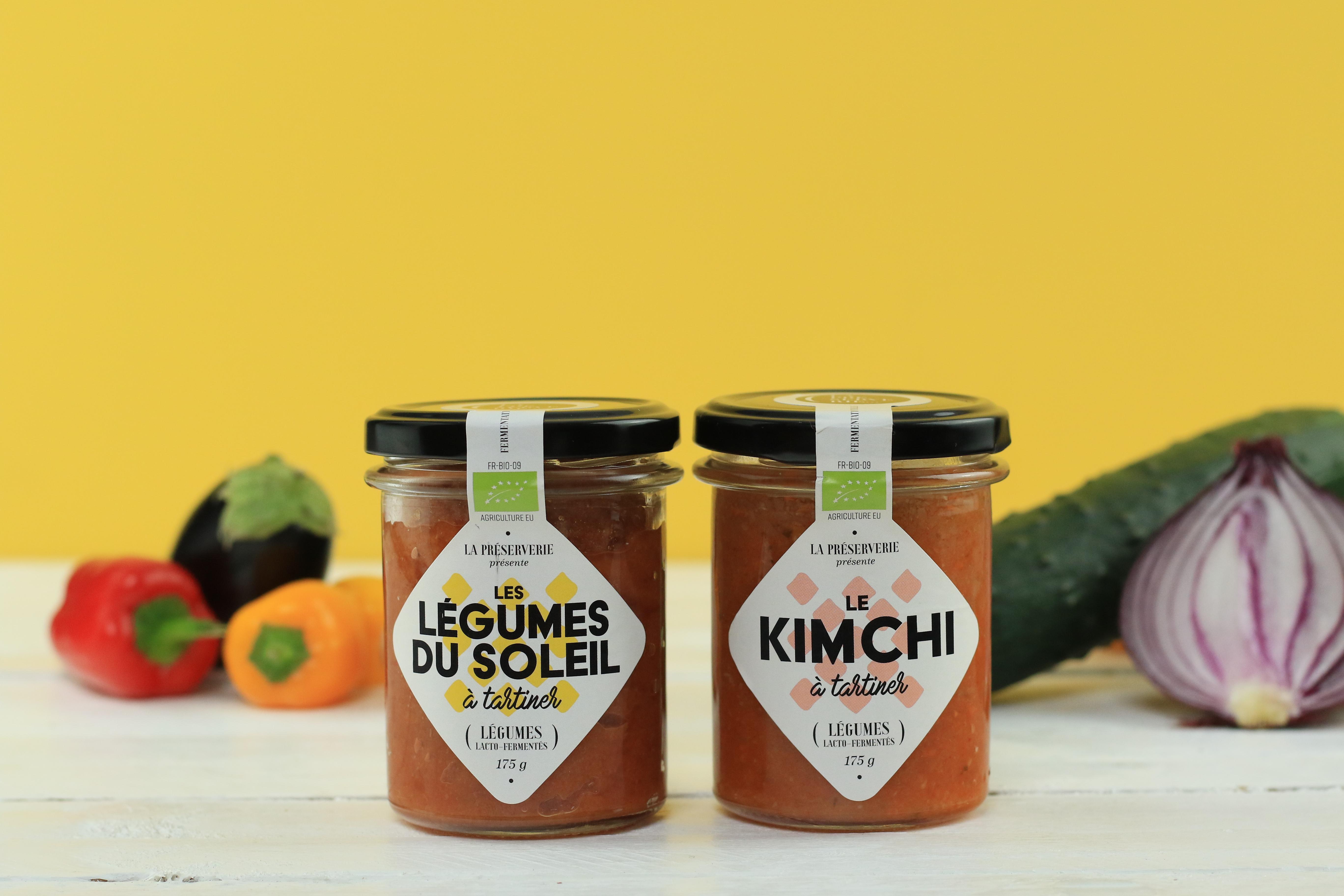 Duo tartinables légumes lactofermentés La Préserverie